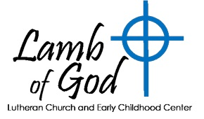 Lamb of God Lutheran Preschool and MDO Logo