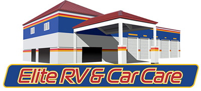 Elite RV & Car Care Logo