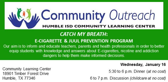 Community Outreach - 1/16/19