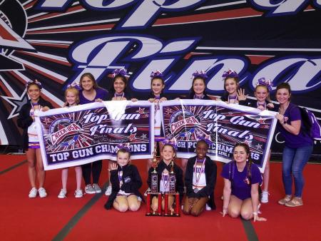 Local Cheer Team Ends Season With Big Win