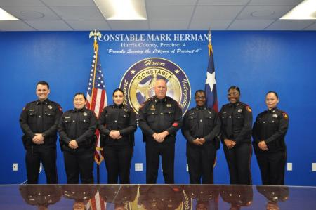 Constable Hermann Hires Six New Deputies