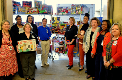 Memorial Hermann Toy Drive For HAAM