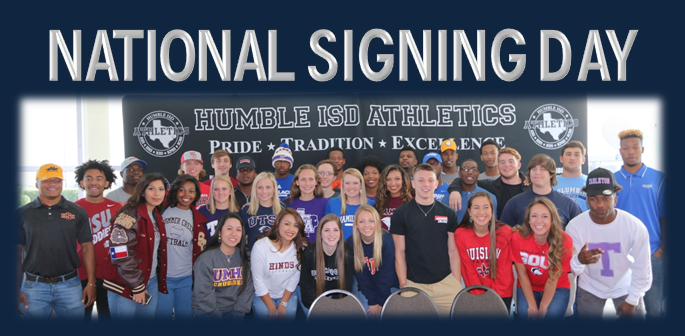 Humble ISD National Signing Day Event