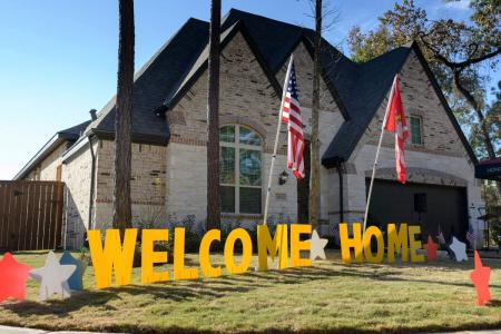 Veteran Family Gifted A New Home