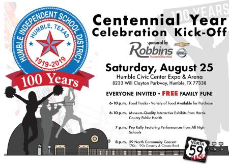 Humble ISD Centennial Celebration Event