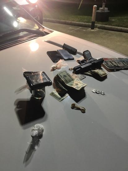Felon Arrested With Drugs/Cash/Gun