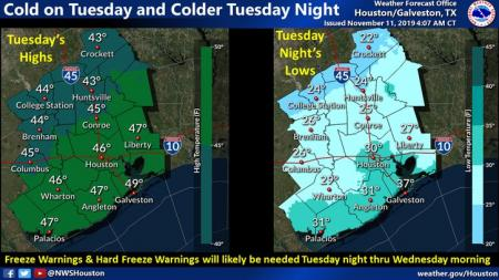 Hard Freeze Possible Tonight