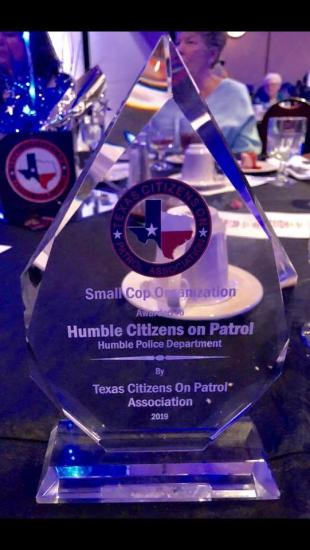 Humble Patrol Citizens Honored