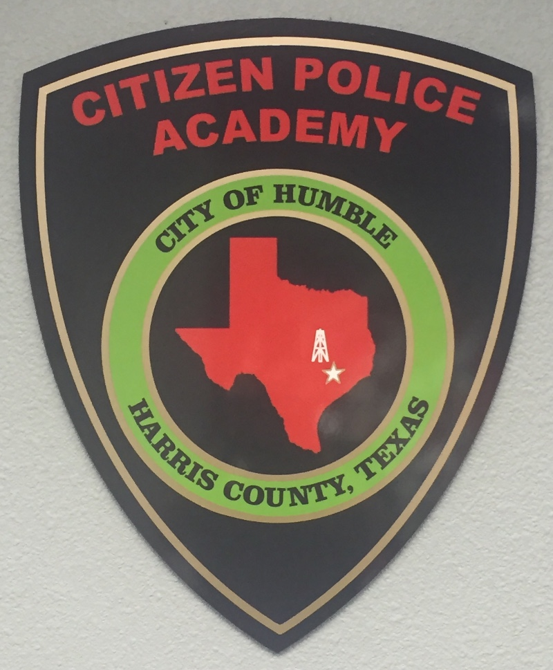 Humble PD Citizens Police Academy