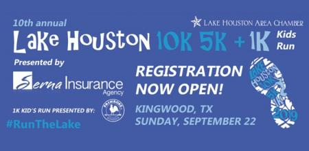 10th Annual Lake Houston 10K/5K & 1K Kids Run