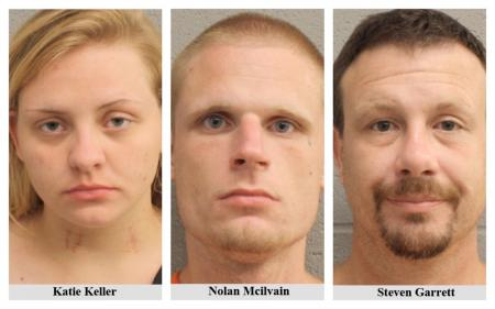 Trio Arrested For Possession Of Meth
