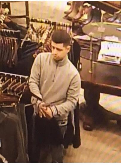 Police Looking For Felony Theft Suspect