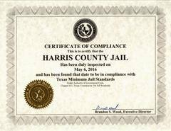 Harris County Jail Passes Surprise Inspection